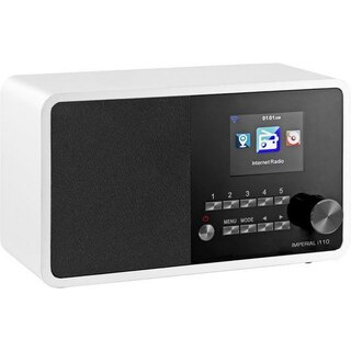 Imperial i110 ws Internet Radio WLAN USB Wecker