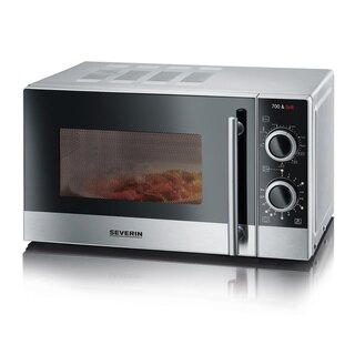 Severin MW 7874 silber-edst Mikrowelle 700 W 20,0 L...